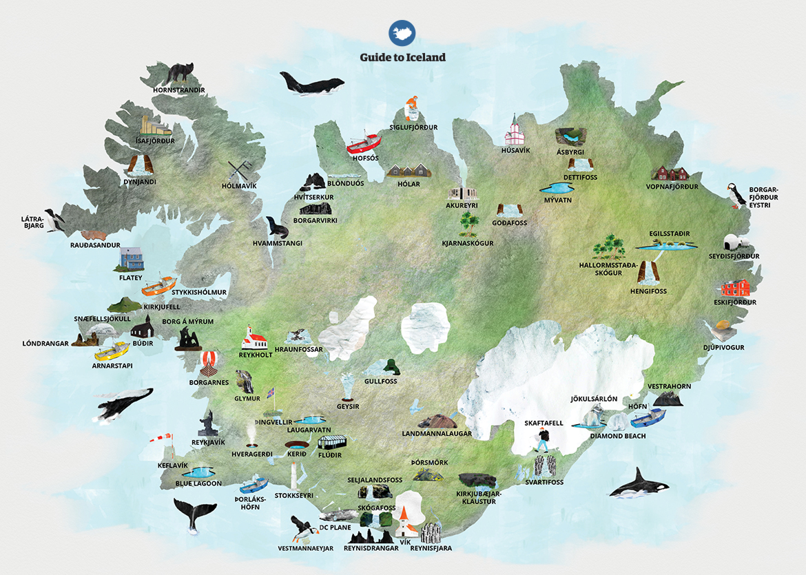 Map If Iceland Location – welcome